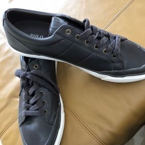 Polo by Ralph Lauren Leather Sneakers!